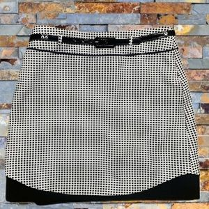 Review Pink Label Size 12 Black White Pencil Skirt